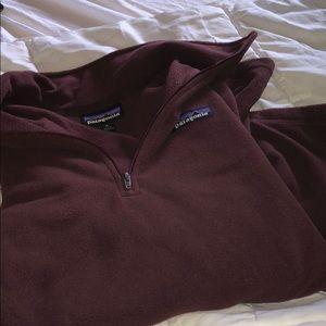 Patagonia Micro D 1/4 zip fleece